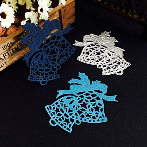 Stanzschablone Scrapbooking, SHOBDW Weihnachten Halloween Papier Dekor Schneiden Dies Schablone Scrapbooking DIY Handwerk ()