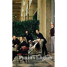 Proust's English