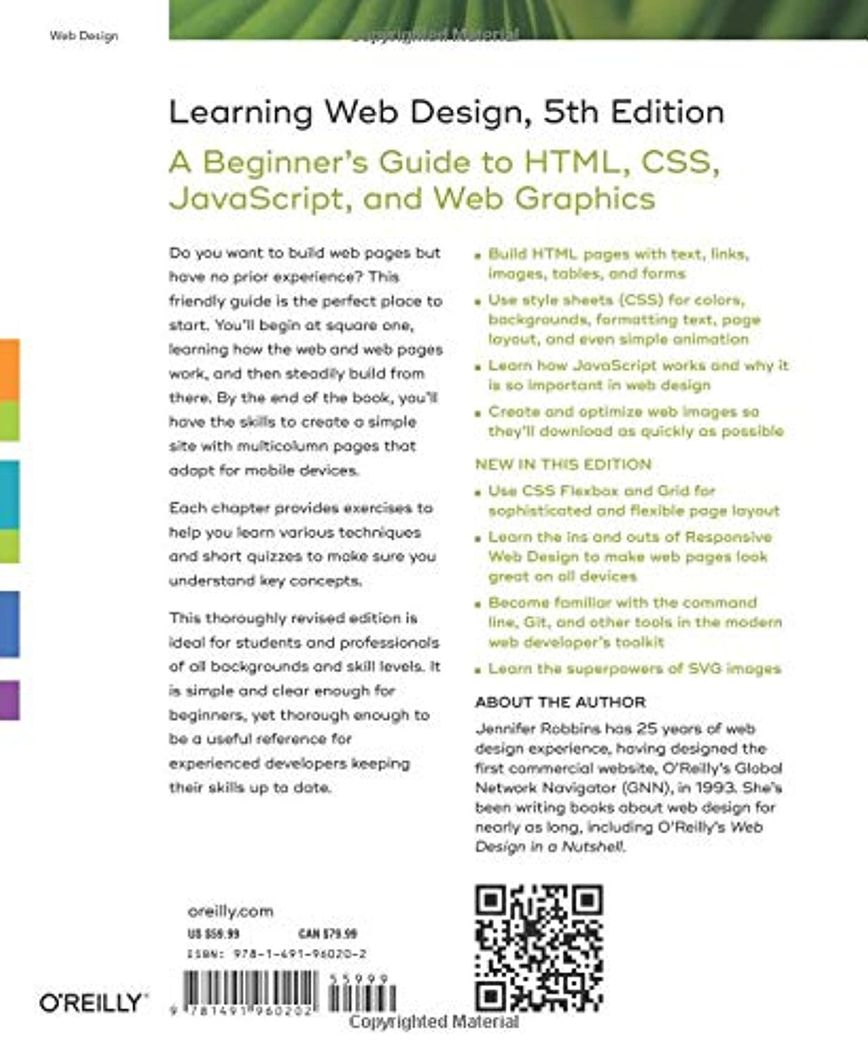learning web design 5th edition materials