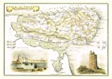 1830 Map of ISLE OF THANET - County Map - Thomas Moule - Reproduction (42 x 30 cm)
