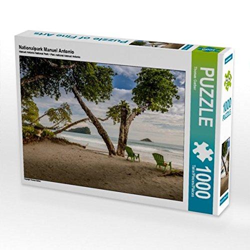 Nationalpark Manuel Antonio 1000 Teile Puzzle quer (CALVENDO Natur)