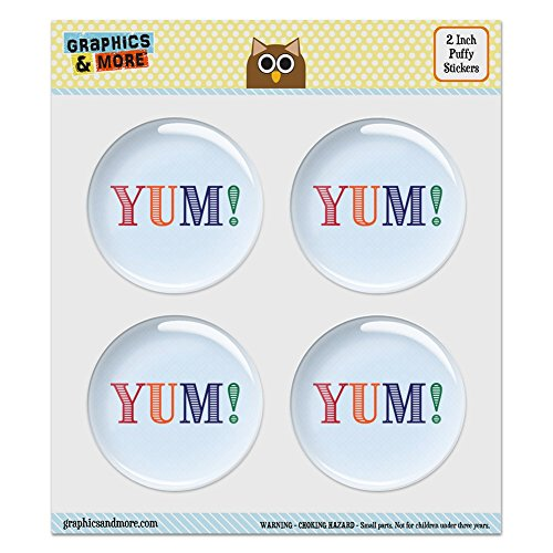 puffy-bubble-dome-scrapbooking-crafting-stickers-yum-yummy-set-of-4-20-51mm-diameter-each