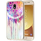 deinPhone Samsung Galaxy J3 (2017) Silikon Case Buntes Mandala Aquarell