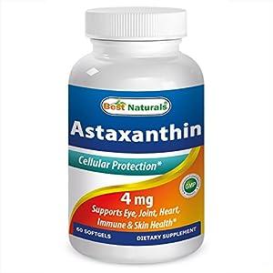 51wYwL3oHEL. SS300  - Best Naturals Astaxanthin 10 mg 60 Softgels
