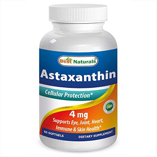 51wYwL3oHEL. SS500  - Best Naturals Astaxanthin 10 mg 60 Softgels