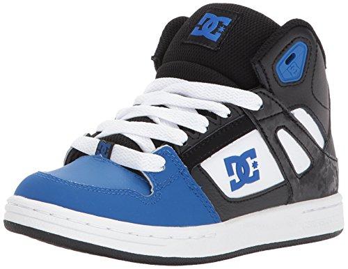 DCREBOUND - rebound Unisex-bambini ragazzo ragazze Black/Blue/White