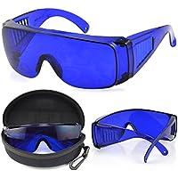 TRIXES Gafas para Buscar Pelota de Golf Incluye Estuche Protector y Paño de Limpieza