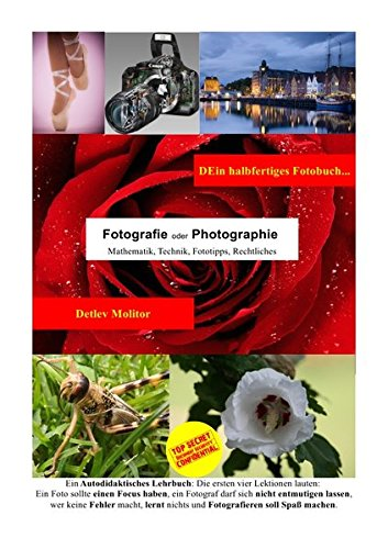 DEin halbfertiges Fotobuch: Es lebt mit Deinen Notizen, deinen Tests mit Deiner Kameraausrüstung