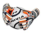 Nivia 913L Dominator Goalkeeper Gloves, Men's Large (Orange/Blue/White)