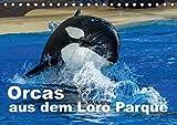Orcas aus dem Loro Parque (Tischkalender 2017 DIN A5 quer): Faszination Orcas (Monatskalender, 14 Seiten )