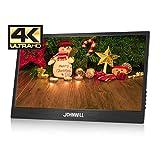 Monitor di gioco portatile FHD 4K da 14 pollici con monitor LCD IPS con ingresso HDMI, altoparlante incorporato, monitor di gioco, JOHNWILL
