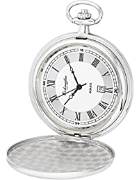Reloj De Bolsillo Con Tapa de Salto, revestimiento de PVD, Ronda 515