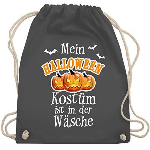 Halloween - Mein Halloween Kostüm ist in der Wäsche - Unisize - Dunkelgrau - WM110 - Turnbeutel & Gym ()