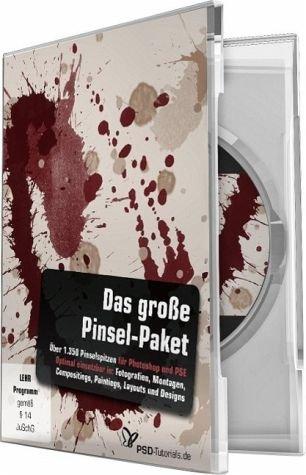 Das große Pinsel-Paket  - für Photoshop u.Photoshop Elements (Win+Mac+Tablet) -