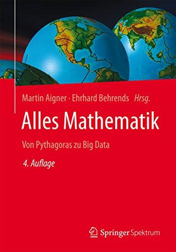 Alles Mathematik: Von Pythagoras zu Big Data (Visualisierung Von Daten In R)