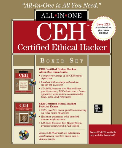 CEH Certified Ethical Hacker Boxed Set (All-In-One) por Matt Walker