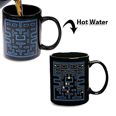Tasse thermique jeu d'arcade pacman mug thermo-réactifs
