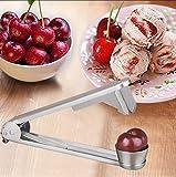 Inox ciliegie Corer ciliegia frutti seminati affettatrice carotaggio dispositivo splitter Jam Maker
