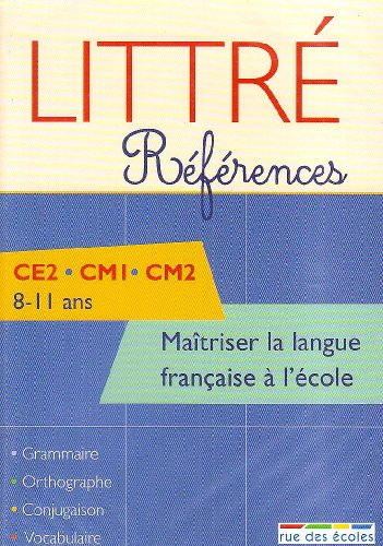 Maîtriser la langue française à l'école CE2, CM1, CM2 : CD-Rom PC