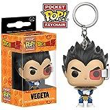 Funko - Llavero Figura Pop! Dragon Ball Z: Vegeta