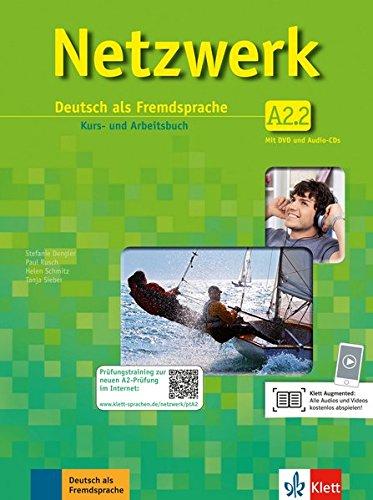 Netzwerk / Kurs- und Arbeitsbuch A2, Teilband 2 mit 2 Audio-CDs und DVD : Deutsch als Fremdsprache