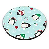 PosterGuy Happy Penguins Pattern Christmas, Holidays Fridge Magnet