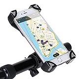 GHB Support de vélo/moto universel pour GPS et téléphone portable Idéal pour iPhone6/6Plus/7/7Plus Noir/gris