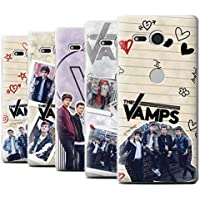 Offiziell The Vamps Hülle / Case für Sony Xperia XZ2 Compact / Pack 5Pcs Muster / The Vamps Doodle Buch Kollektion