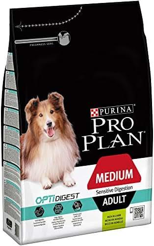Proplan : Croquette Pro Plan Chien Medium Adult Sensitive Digestion : Agneau 3kg