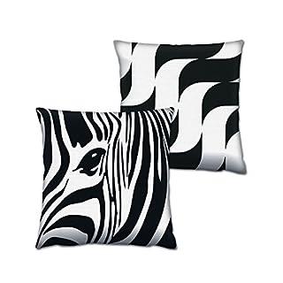 Asir Group LLC 417GRV0151Gravel Cushion Set 2, Multi-Colour