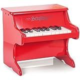 Schylling - 4921181 - Instrument de Musique - Piano en Bois- Rouge