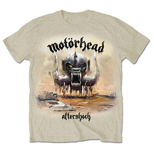 Motorhead DS EXL Aftershock Album, Camiseta para Hombre, Beige,...