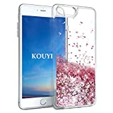 KOUYI Coque iPhone 8 Plus/iPhone 7 Plus, Luxe Flottant Liquide Étui Protecteur TPU...
