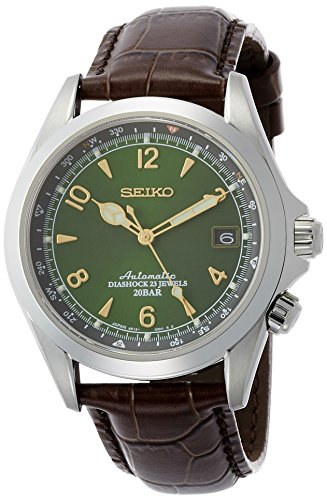 SEIKO MECHANICAL self-winding watch alpinist with manual winding SARB017 Men's Watch [Japan import]