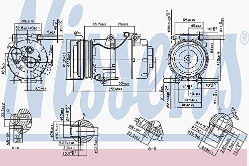 Nissens 890090Compressore per aria condizionata
