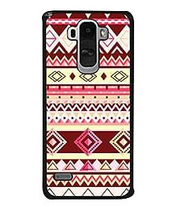 PrintVisa Designer Back Case Cover for LG G4 Stylus :: LG G4 Stylus H630D H631 H540 (Jaipur Rajasthan Tribal Azitec Mobiles Indian Traditional Wooden)