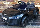 Licensed Kids R8 Spyder Style Roadster Sports Car with Remote Control 12v Electric