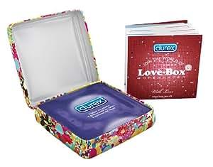 Durex- 4114690000- Preservatifs Durex Love Box 3 pieces - Random