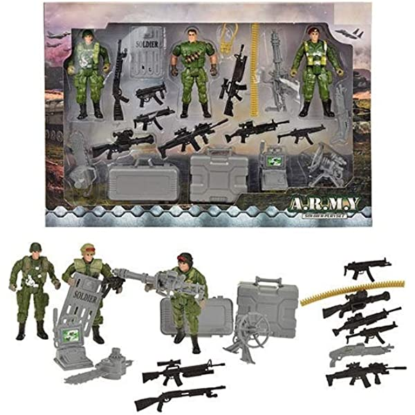 UMKYTOYS Combat Mission Special Forces Army Toy Soldiers