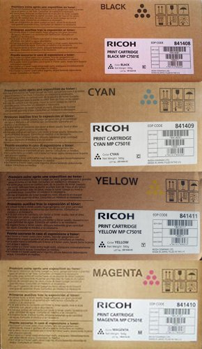 Ricoh MP c7501e–Kit 4Farbe schwarz, blau, gelb, rot