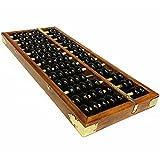 Lucky Will Chinesisch Vintage Hölzern Abakus Abacus Soroban Berechnung Tool Werkzeug Rechenrahmen Re