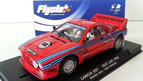 Flyslot 046103 Lancia 037 Test Car 1985 Markku Alén