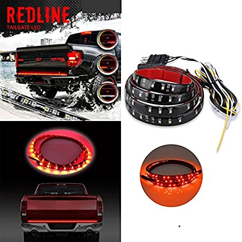 Caxmtu 152,4cm Redline LED Tailgate Barre lumineuse Camion Pickup Tour