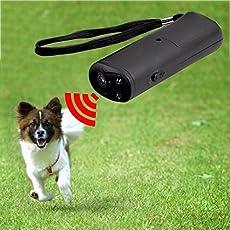 Generic Anti Stop Barking Dog Training LED Ultrasonic Repellent Device
