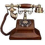 LLP LM Retro Telefon Festnetz Zuhause Büro Dekoration Knopf drücken Telefon Festnetz