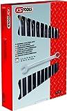 KS Tools 517.0052 Classic Ringmaulschlüssel-Satz, abgewinkelt, 12-teilig, 8-19 mm