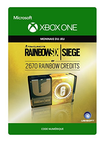 Tom Clancy's Rainbow Six Siege Currency pack 2670 Rainbow credits [Xbox One - Code jeu à télécharger]