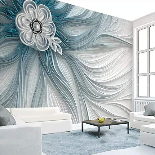 Dalxsh murales carta da parati personalizzata home decor soggiorno camera da letto foto atmosferiche strisce di sollievo linee 3d murales moderni-250x175cm