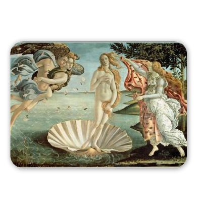 the-birth-of-venus-c1485-tempera-on-mouse-mat-art247-highest-quality-natural-rubber-mouse-mats-mouse