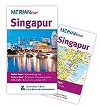 MERIAN live! Reiseführer Singapur: Mit Kartenatlas im Buch und Extra-Karte zum Herausnehmen